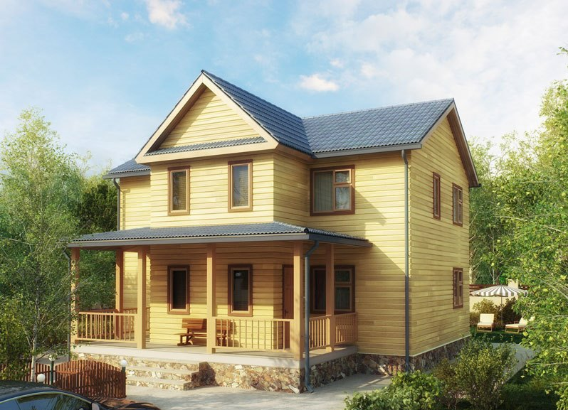 Как выстроить красивый дом