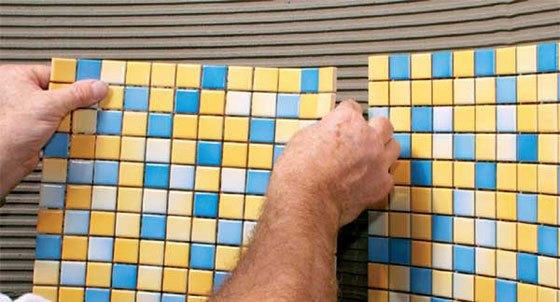 Методика укладки мозаичной плитки