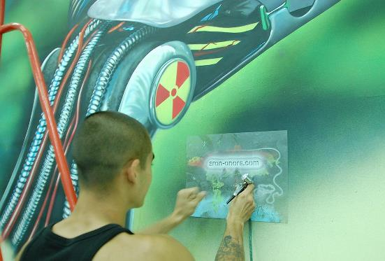 Создание рисунка на стене