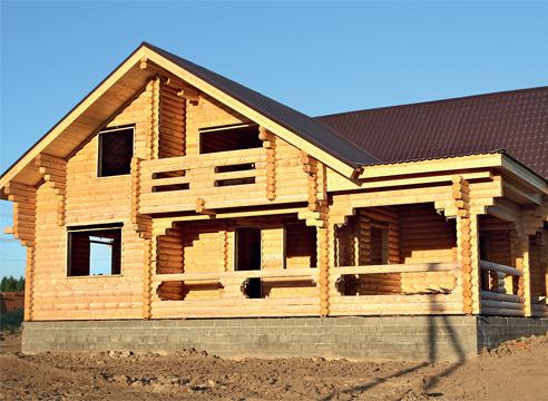 Строительство бревенчатых домов