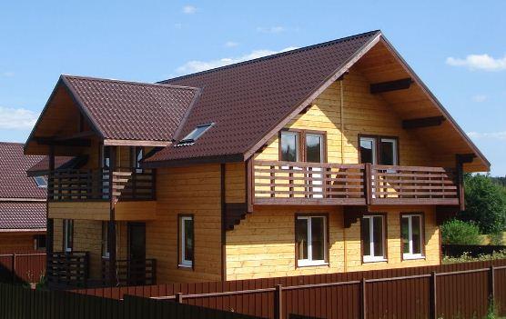 Строительство деревянных загородных коттеджей