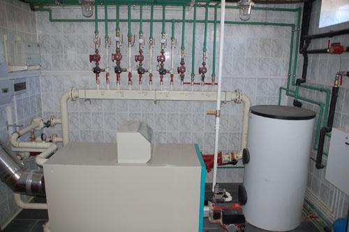 Автоматический контроль теплоснабжения
