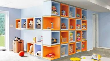 Выбираем полочки в детскую комнату