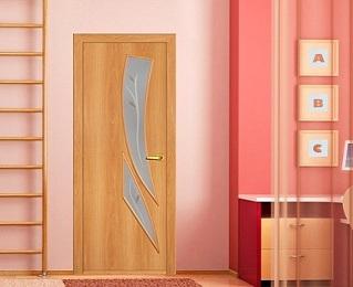 межкомнатные двери цвета миланский орех