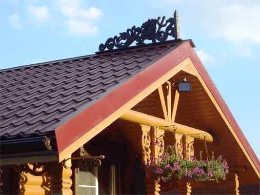 Крыша для бани должна быть надежной
