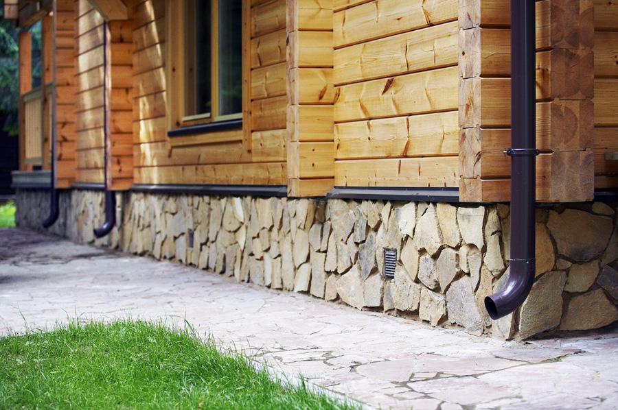 Облицовка поверхности при помощи натурального камня