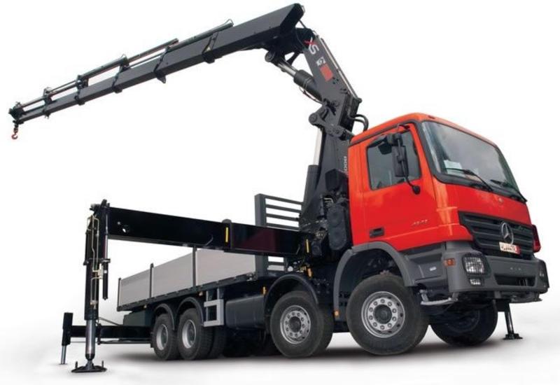 Эвакуатор для перевозки строительного груза