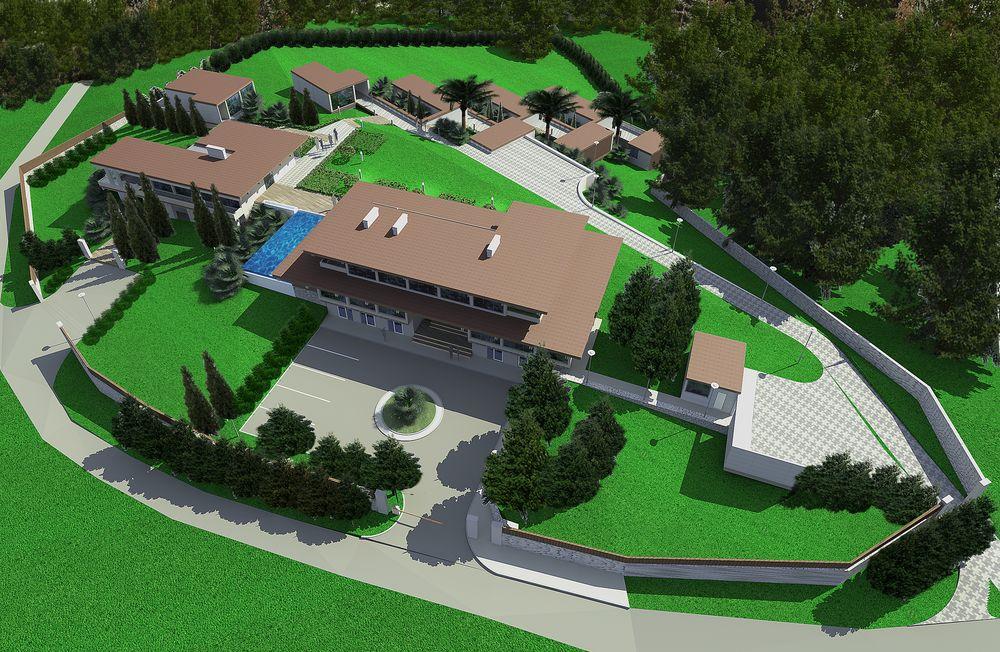 Строительство отелей и фабрик