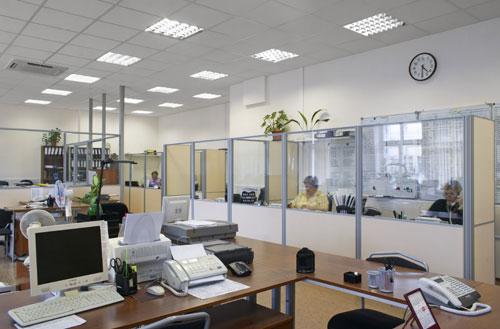 Офисный интерьер