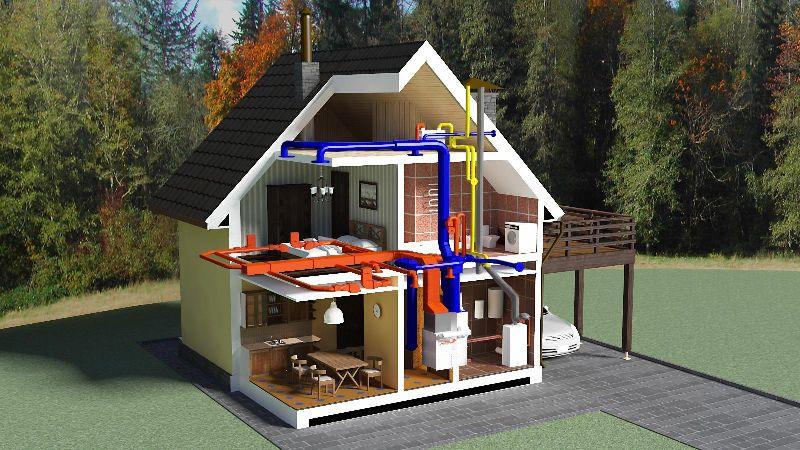 водопроводных систем в загородных домах