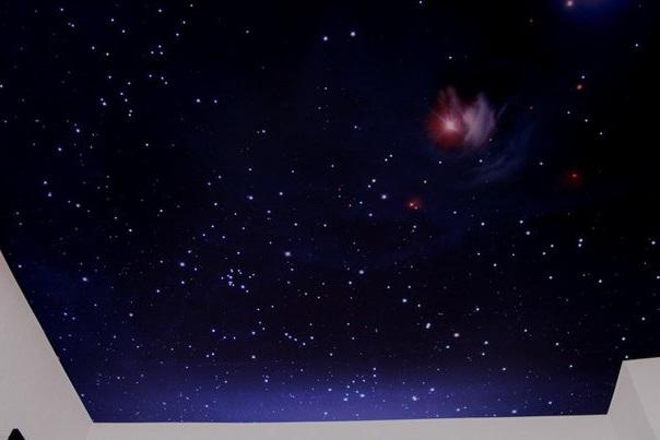 Звездное небо над головой. Не выходя их комнаты