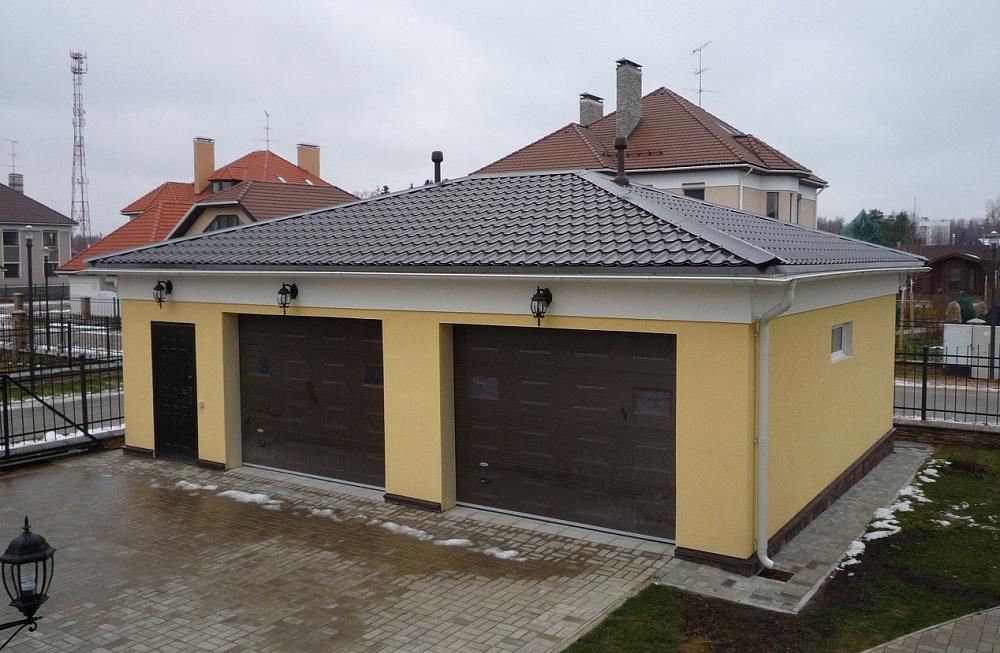 Как построить крышу на гараже своими руками