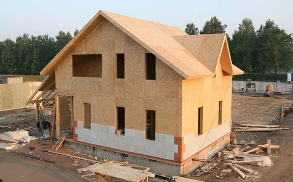 Каркасные дома из сип панелей