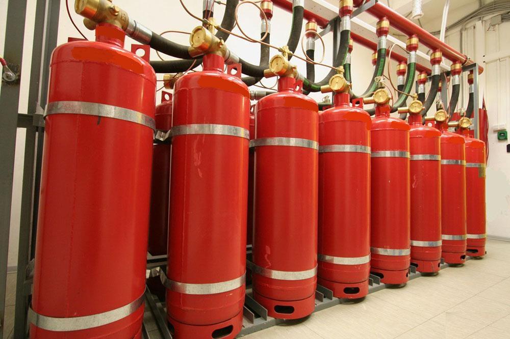 Преимущества газового пожаротушения