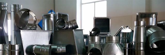 фасонные изделия для вентиляции