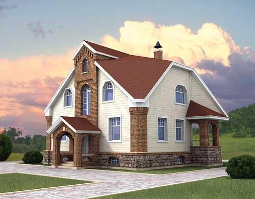 Теплый и дешевый дом