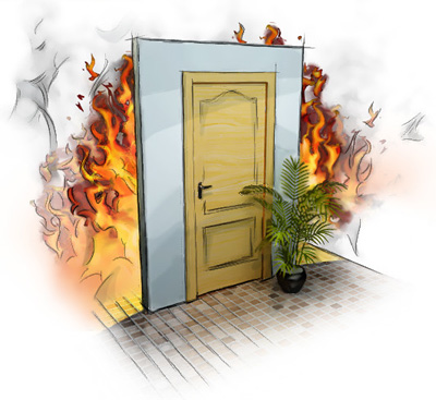 Размеры противопожарных дверей