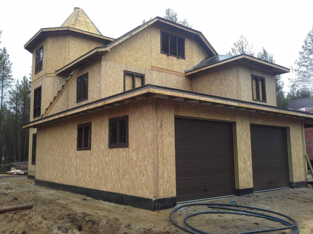 Строительство домов из СИП - панелей